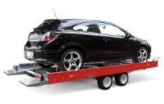 Приколки за транспорт на автомобили